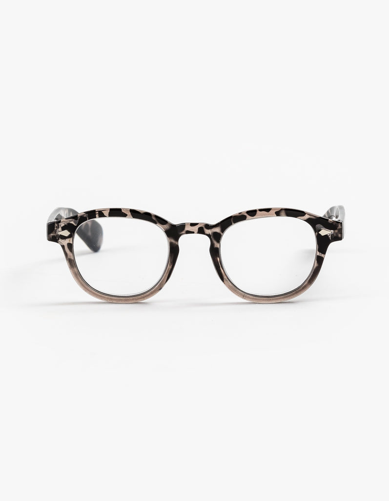 Stella + Gemma Layla Leopard Reading Glasses