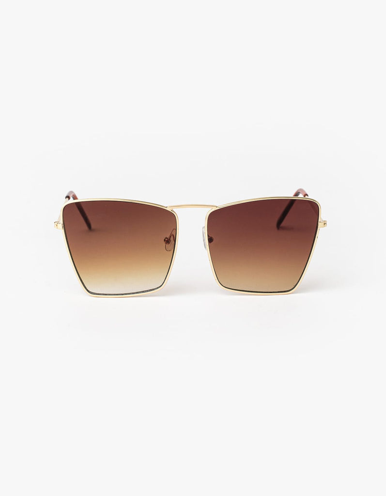 Stella + Gemma Sunglasses - Angelina Gold