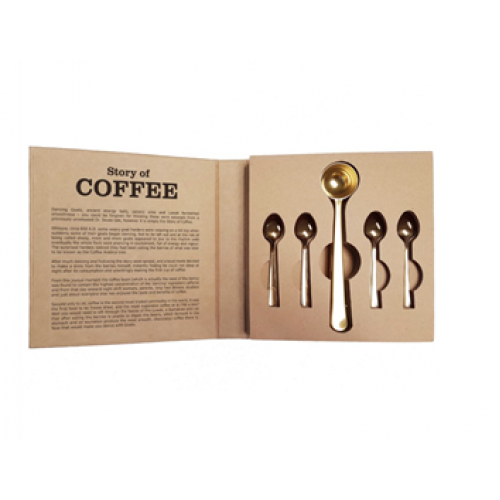 Parnell + Co Coffee Spoon set - 5 pc in Book