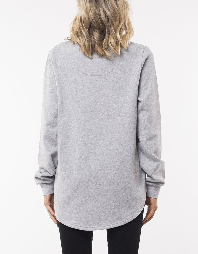 Silent Theory Classic Crew Grey Marle