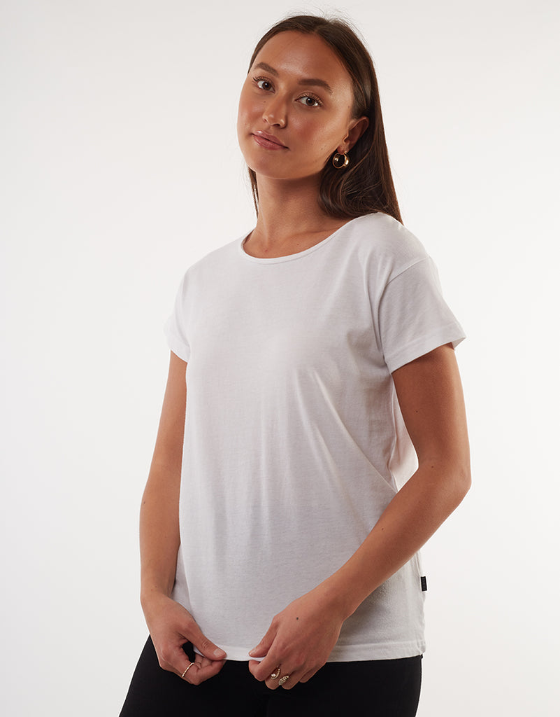 Silent Theory Polly Tee - White