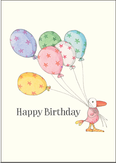 Affirmations Little Cards -Happy Birthday