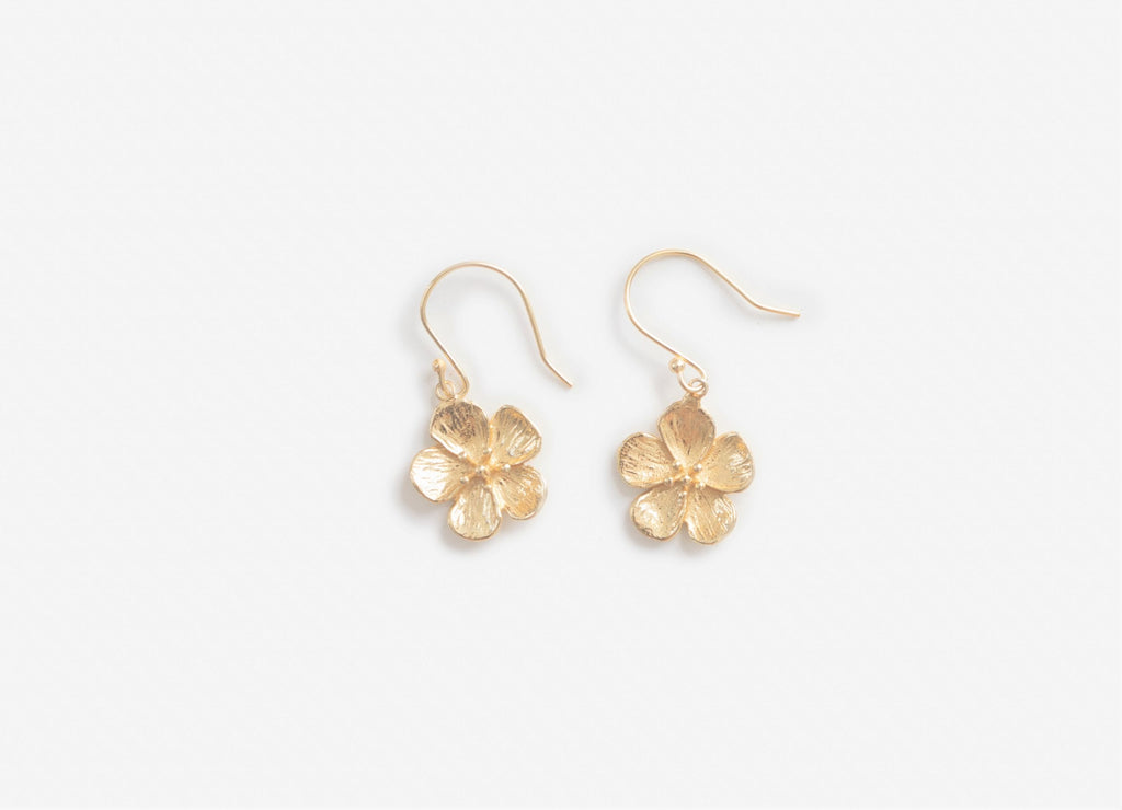 Stilen Earrings - Fleur gold