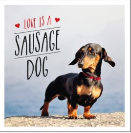 NBD Love is a Sausage Dog