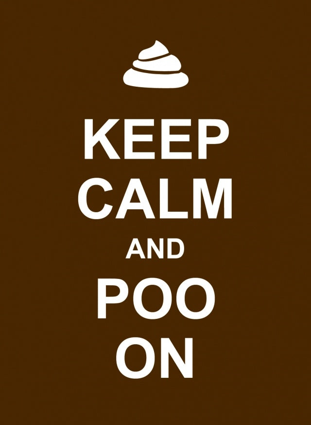 NBD Keep Calm & Poo On