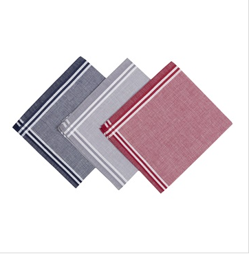 Linens and More Mens 3 Hankies