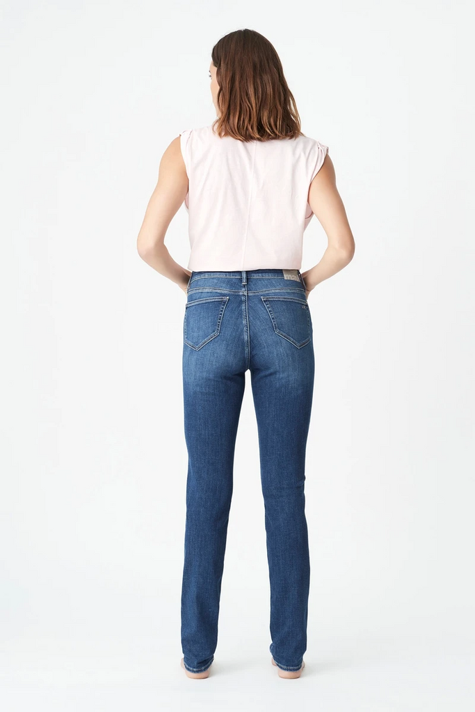Mavi Jeans Kathleen - Mid Feather Blue