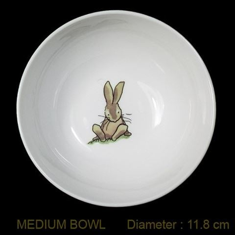 Live Wires Bowl - Sitting Rabbit