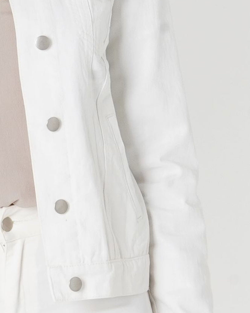 Amelius Anthem Drill Jacket - White