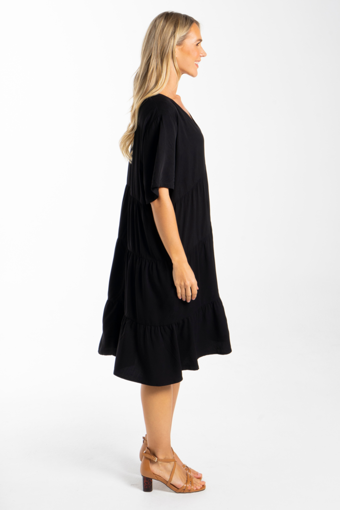 PQ Collection Chic Dress Black