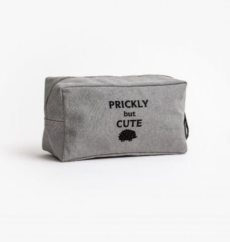 Stella + Gemma Men's Cosmetic Bag -Prickly but cute