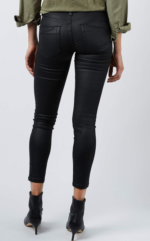 Dricoper Lauren Coated Jeans Black