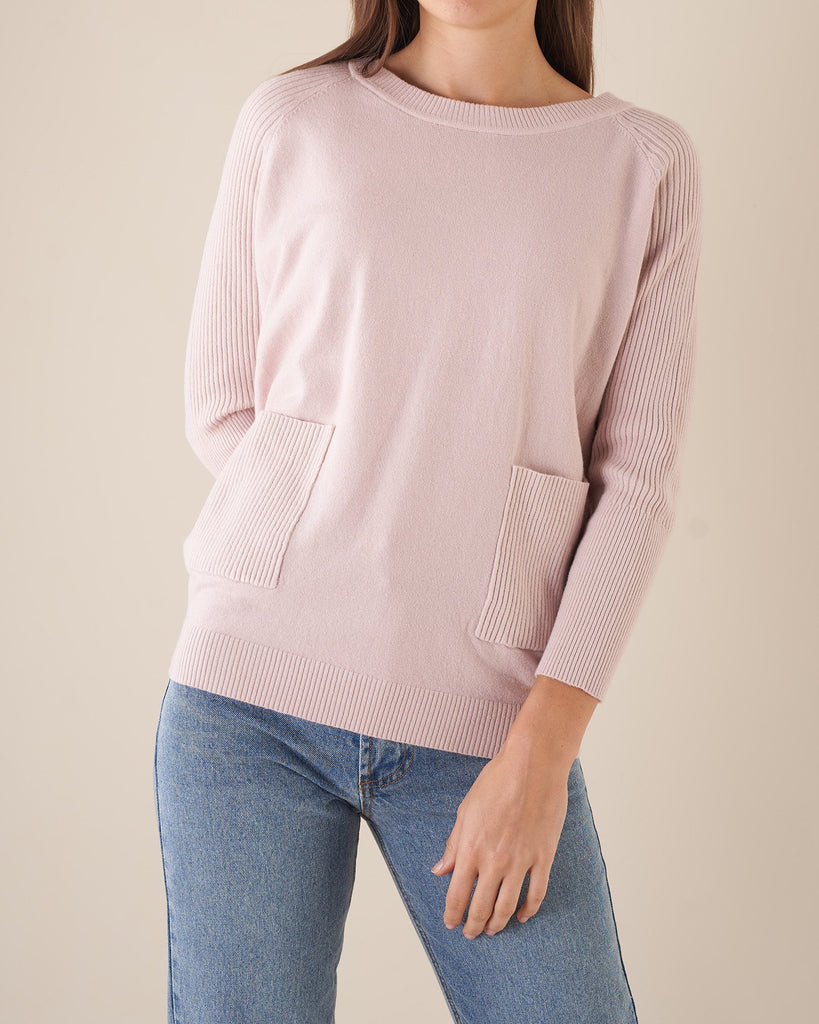 Amelius Sawyer Knit - Dusty Pink