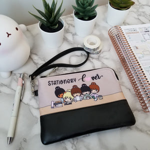 """C grade"" Stationery Lover Zippered Pouch/Bag"