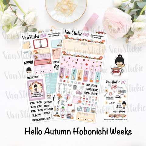"Hobonichi Weeks Kit - ""Hello Autumn"""