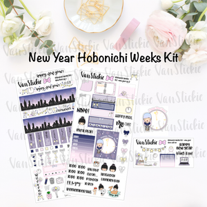 "Hobonichi Weeks Kit - ""New Year"""