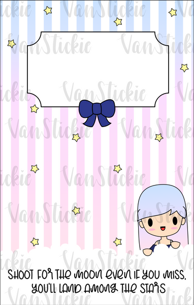 Vanstickie Reusable Sticker book (30 pages)