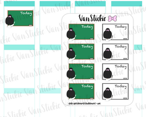 VSC 101| Whiteboard/Chalk board Teacher Planner Stickers