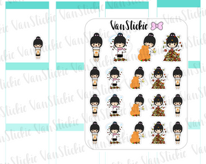 Chibit - Hello Autumn Planner Stickers