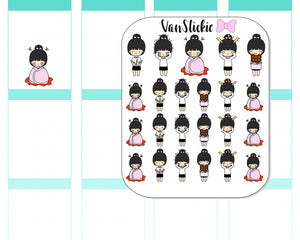 VSC 005 | Chibits – Code RED Planner Stickers