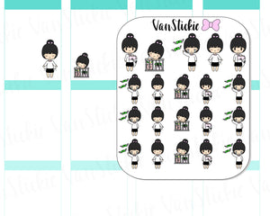 VSC 014 | Chibits -  Man I'm Broke Planner Stickers