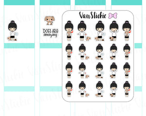 VSC 024 | Chibit - Doggie Mama Planner Stickers