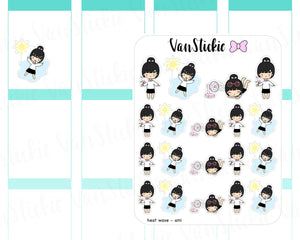 VSC 032 | Chibit - Heat Wave Planner Stickers