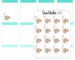 VSD 023| Doodle - Walk the Dog Planner Stickers