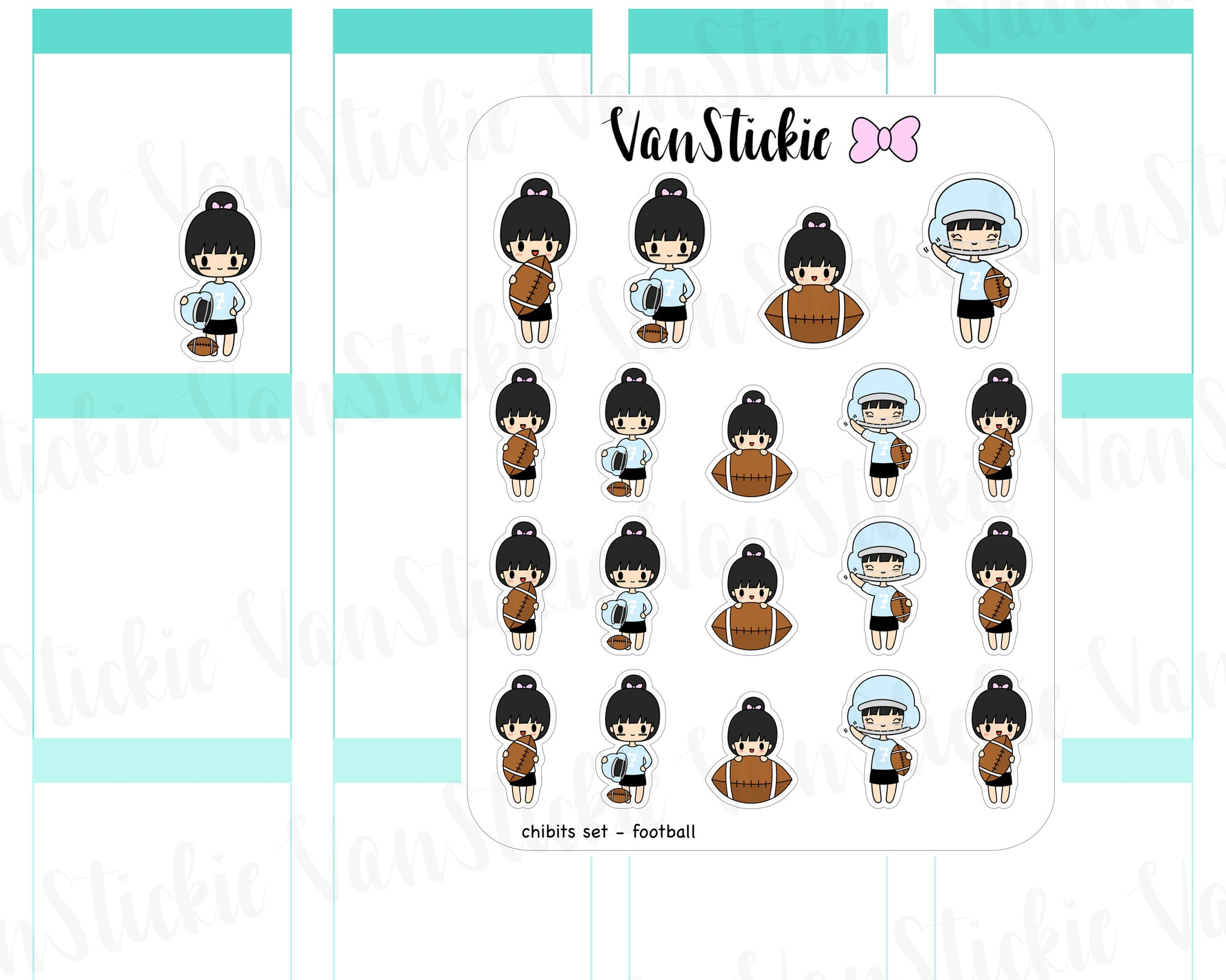 VSC 059 | Chibit - Chibi Football Planner Stickers