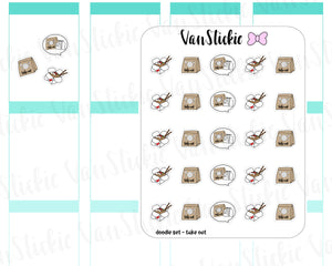 VSD 069| Doodle - Take Out set Planner Stickers