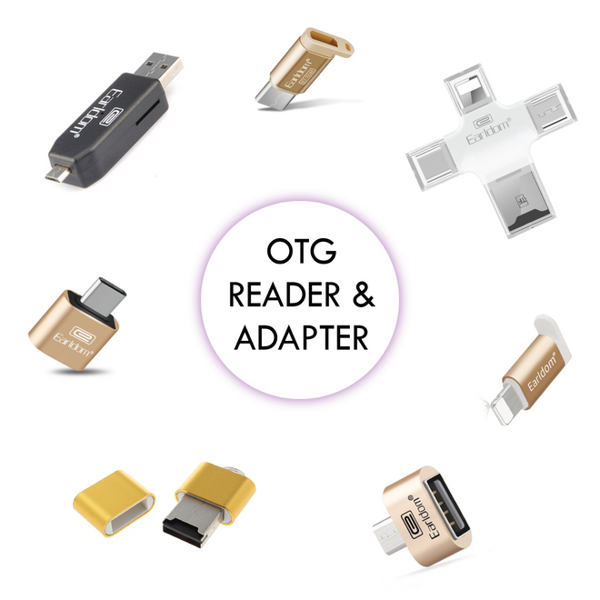 OTG CARD READER / ADAPTER