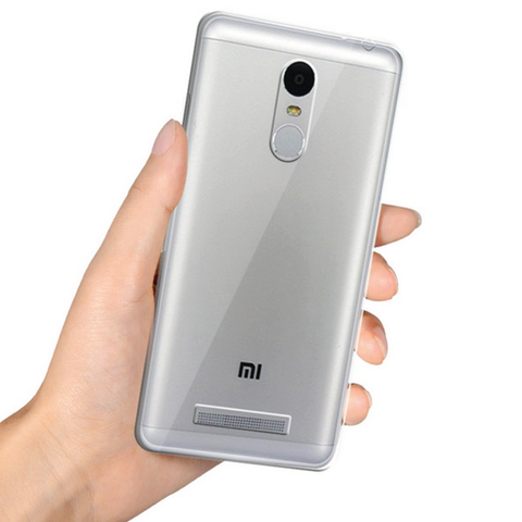 Xiaomi Series Ultra-thin TPU Silicone Back Case