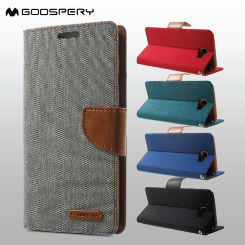 HTC Series Mercury Canvas Diary Flip Case