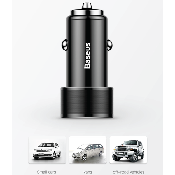 Baseus Super Charge In-Car Charger