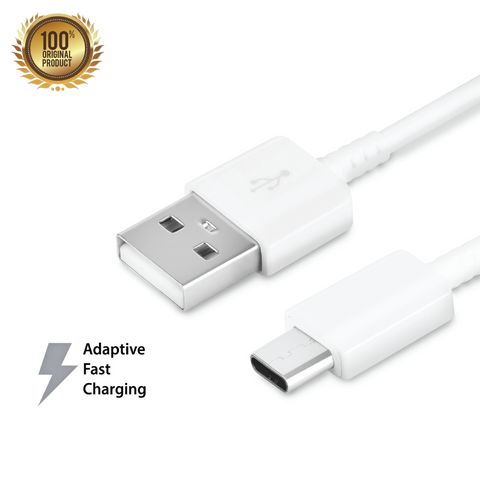 Genuine Samsung Type-C to USB Adaptive Fast Charging Cable (1.2m)