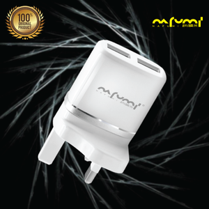 Nafumi 2.4A Dual USB Speed Charging Home Charger (Q19)