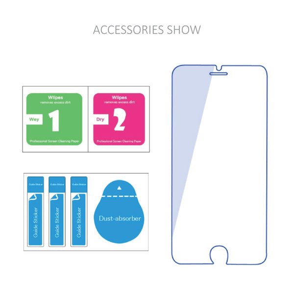 Vivo Series Clear HD Tempered Glass Protector