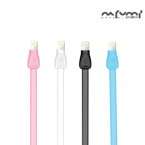 Nafumi 2.1A Martin Series USB Cable for Micro, Lightning (1.2m)