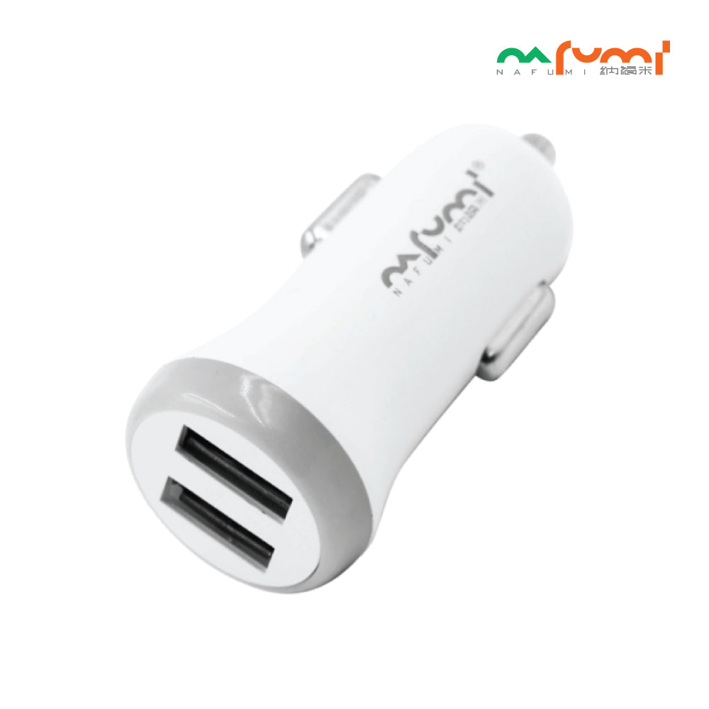 Nafumi Dual USB Port 2.1A In-Car Charger C05