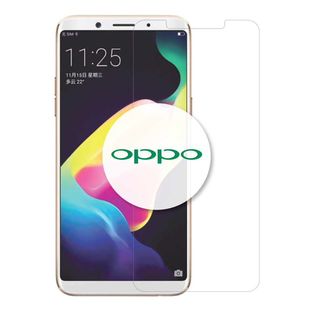 Oppo Series Clear HD Tempered Glass Protector