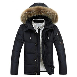 Thick Waterproof Parka Jacket - Londonman