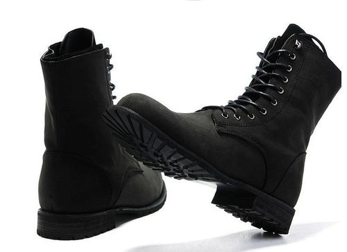 Winter England-style High Top Boots - Londonman