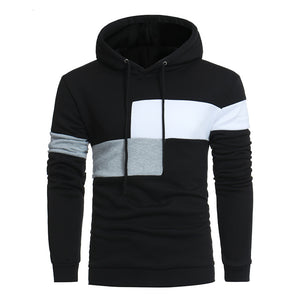 Thin Patchwork Hoodie