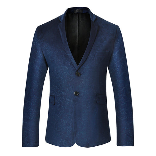 Single Breasted Solid Blazer - Londonman
