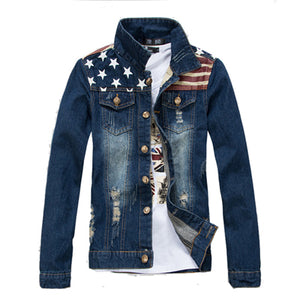 USA Style Jeans Denim Jacket - Londonman