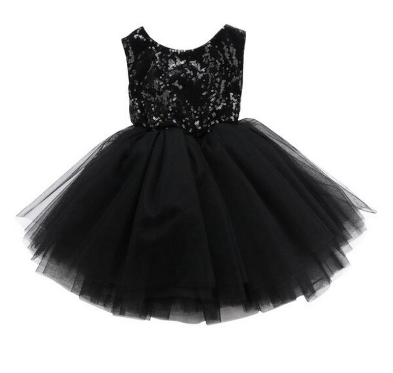 Christmas Holiday Party Dress - Black