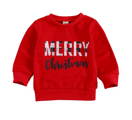 Merry Christmas Sweater - Red