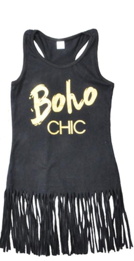 Boho Chic Tassle Dress/Top