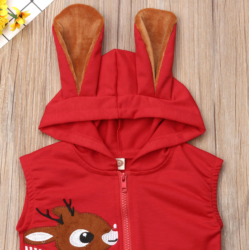 Corey Deer Hooded Jumpsuit