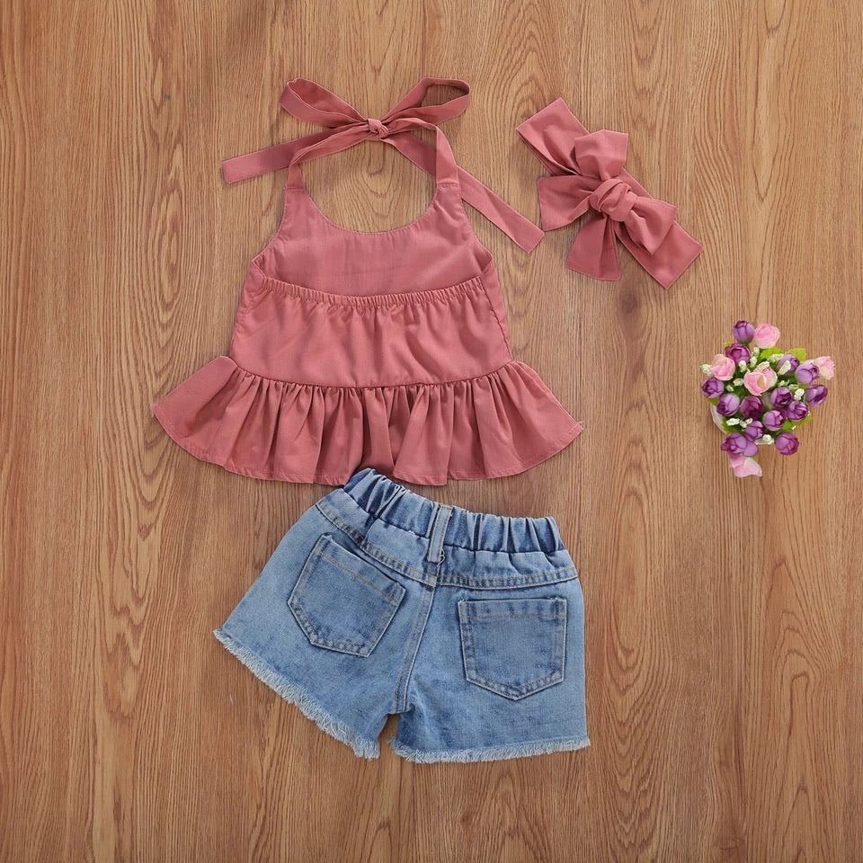 Erika 3 Piece Set - Mauve